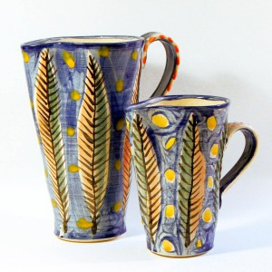 feather jugs